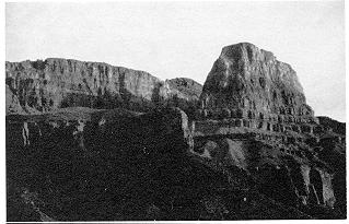 Fig. 9-5P  Cardenas Butte's Solstice Profile PHOTO